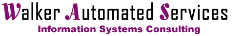 Walker automated Services logo